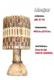 Abajur Artesanal- Ab2110