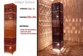 Abajur Coluna - Código: ABD-01