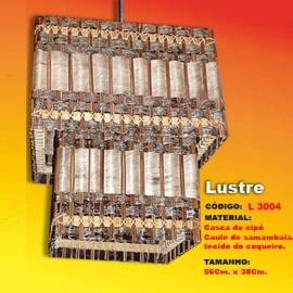 Lustre Artesanal Oclopado L3004
