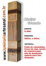 Abajur grande- G:4001