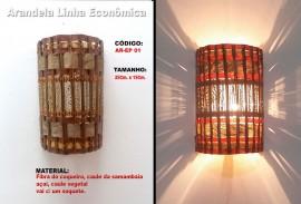 Arandela Artesanal Linha Economica EP - 01