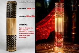 Abajur Coluna - Código: ABD-04