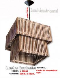 Lustre Artesanal Oclopado L3006