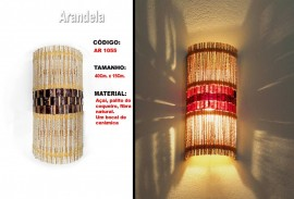 Arandela Artesanal Ar1055