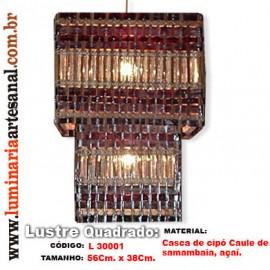 Lustre Artesanal Acoplado L3001