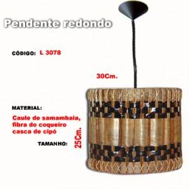Pendente Redondo L3078