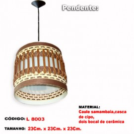 Pendente Artesanal L8003