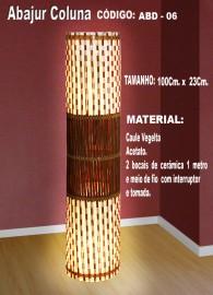 Abajur artesanal ABD:06