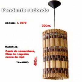 Pendente Redondo L3079