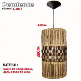 Pendente Artesanal  L3077
