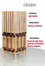 Abajur Artesanal- Ab5002
